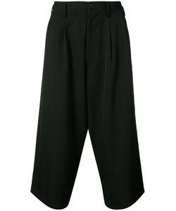 Yohji Yamamoto   Cropped Wide Leg Trousers Men