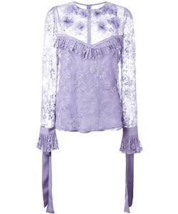 Elie Saab | Lace Blouse Size 38