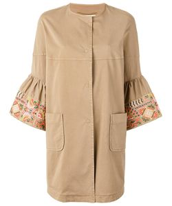 Bazar Deluxe   Cropped Sleeves Coat Size