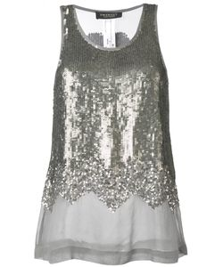 Twin-Set | Sequin Embellished Tank Top