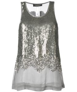 Twin-Set   Sequin Embellished Tank Top