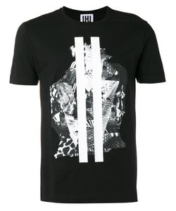 Les Hommes Urban | Graphic Print T-Shirt Large Cotton