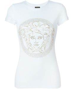 Versace | Studded Medusa T-Shirt Size Spandex/Elastane/Viscose/Metal Other