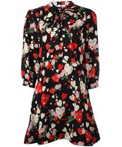 Vivetta | Hearts Print Flared Dress 42