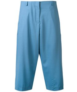 Aalto | Pleated Cropped Trousers Size