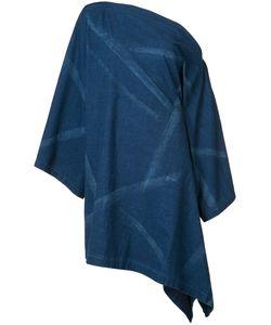 Yohji Yamamoto   Asymmetric Denim Dress Women