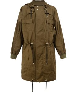 Balmain | Flap Pocket Parka Coat Size Medium