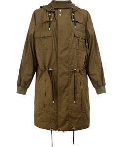 Balmain | Flap Pocket Parka Coat Size Medium