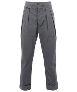 Wooster + Lardini | Tailored Straight Leg Trousers Men