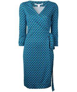 Diane von Furstenberg | Patterned Wrap-Dress Women