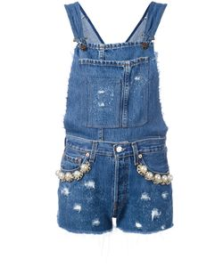 Forte Couture | California Embellished Denim Dungarees 26