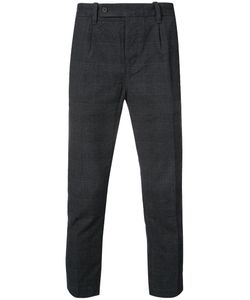 Outerknown | Cropped Check Trousers Men 36