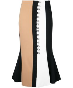 David Koma | Buttoned Midi Skirt Size 12