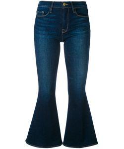 Frame Denim   Flared Cropped Jeans