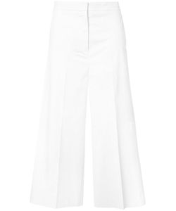 Rochas | Flared Cropped Trousers 42