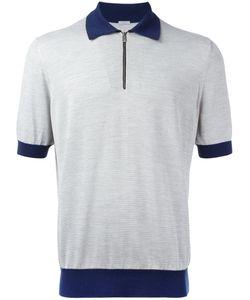 Malo | Contrast Collar Polo Shirt Size 56