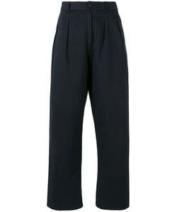 Universal Works | Double Pleat Straight Trousers 32