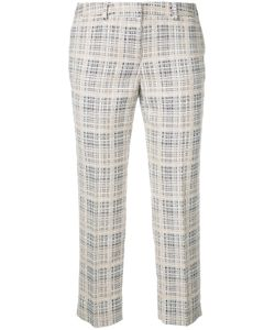 Incotex | Cropped Checked Trousers Size