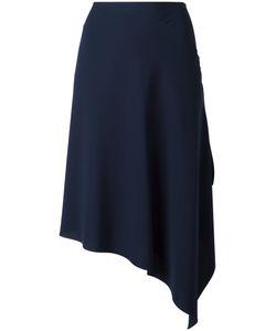 Cédric Charlier | Asymmetric Midi Skirt 42 Polyester