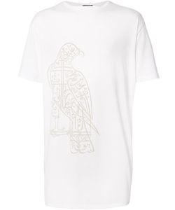 Thamanyah   Falcon Print T-Shirt Size Xs