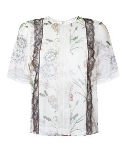 Giambattista Valli | Lace-Detail Shirt Size 44