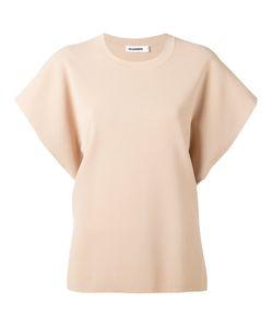 Jil Sander   Knitted Short Sleeve Sweater