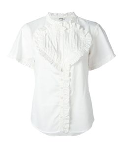 Manoush | Ruffled Trim Blouse Size 42
