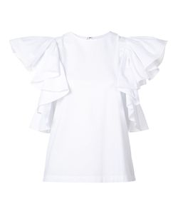 Co | Frill Sleeve Top Size Small