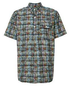Engineered Garments | Dk Madras Short Sleeve Shirt Size Medium