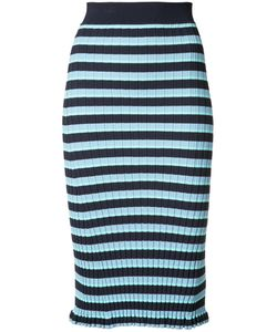 Altuzarra | Striped Pencil Skirt M