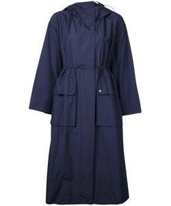 Le Ciel Bleu | Drawstring Hooded Coat Size