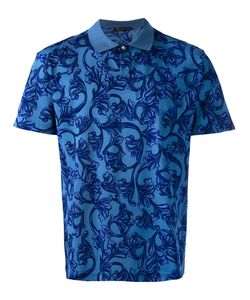 Versace | Baroque Print Polo Shirt Size Small