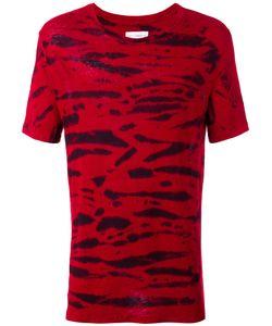 Faith Connexion   Striped T-Shirt Size Medium