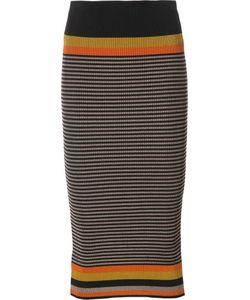 Osklen | Striped Knitted Skirt G