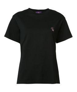 Y's | Chest Slogan T-Shirt 1 Cotton
