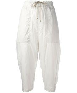Rick Owens DRKSHDW   Cropped Casual Trousers Medium Nylon