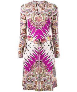 Etro | Abstract Print Drawstring Dress Size