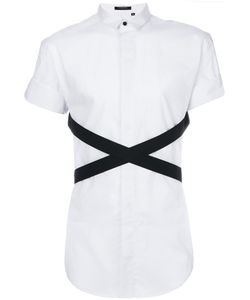 Unconditional | Contrast Crossed Strap Shirt
