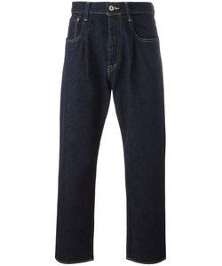 Ganryu Comme Des Garcons | Straight-Leg Jeans Large Cotton