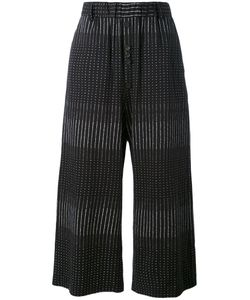 Damir Doma | Cropped Embroidered Trousers Men