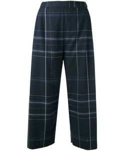 Stephan Schneider | Checked Cropped Trousers Medium Cotton