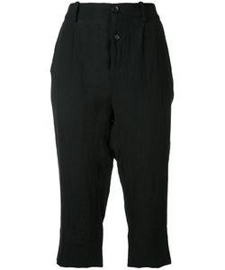 Aleksandr Manamïs | Pleated Cropped Trousers
