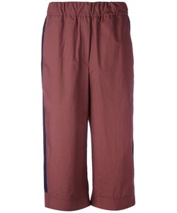 Odeeh | Flared Cropped Trousers 38
