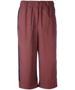 Odeeh | Flared Cropped Trousers Size 38