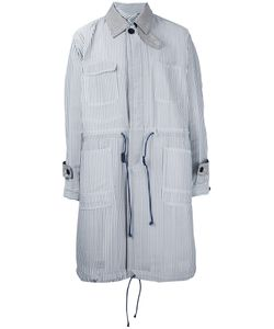 Sacai | Hickory Stripe Coat