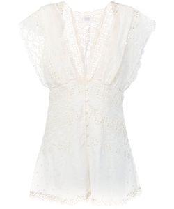 Zimmermann | Lace Playsuit