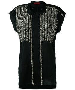 Di Liborio | Embellished T-Shirt 40 Cotton/Metal
