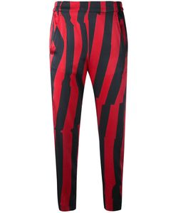 Ann Demeulemeester | Cropped Striped Trousers Women