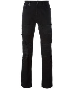 Marcelo Burlon County Of Milan   Ripped Slim-Fit Jeans 33