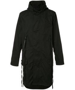 Haculla | Back Print Hooded Coat Large